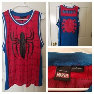 Spiderman Muscle Shirt
